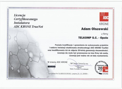 ADC-Krone-TrueNet-2008