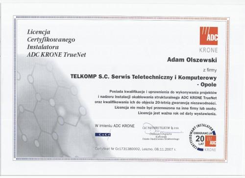 ADC-Krone-TrueNet