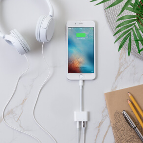 3.5 Audio and Charge Adapter