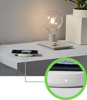 LED LIGHT INDICATES PROPER CHARGING