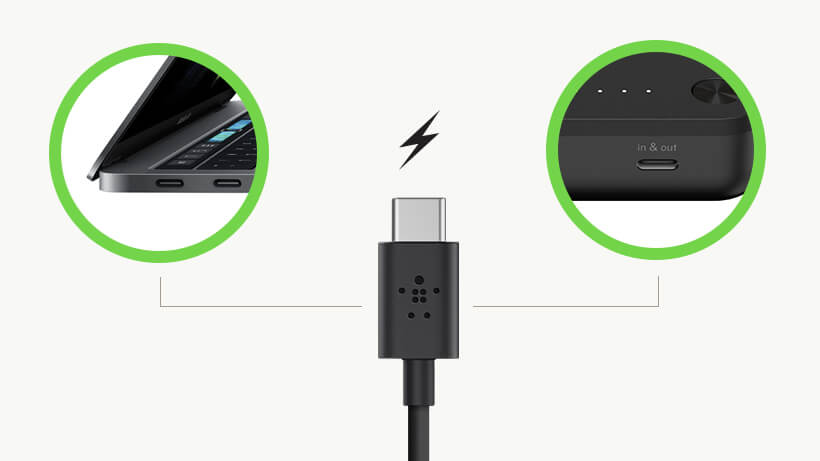 BOOST↑CHARGE™ USB-C diagram