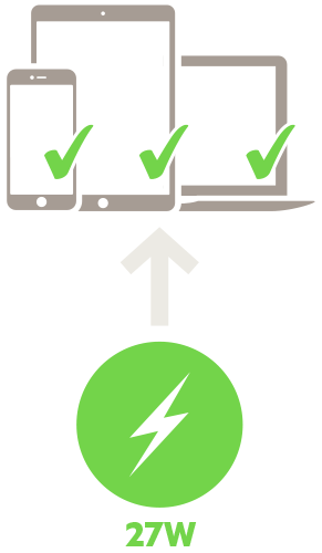 Power delivery icon